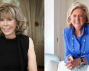 Jane Stanton Hitchcock and Linda Fairstein